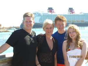 Travel Planner with family on Disney Cruise