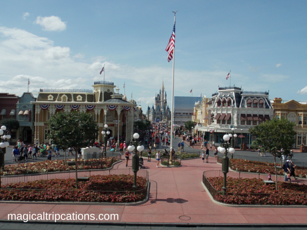 Disney Speak Main Street U.S.A. Magic Kingdom