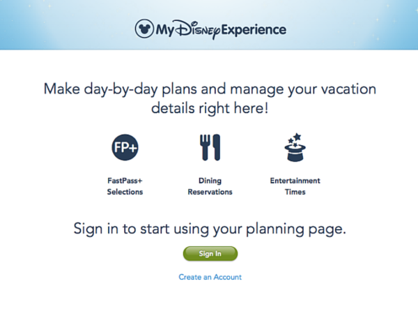 Disney Speak My Disney Experience App