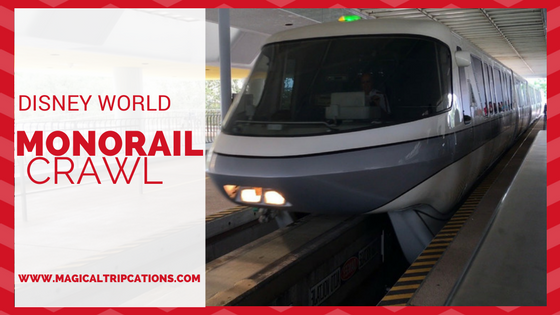 Disney World Monorail Crawl